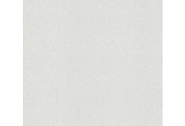 AS Création Vliestapete Meistervlies Strukturtapete überstreichbar weiß 575210