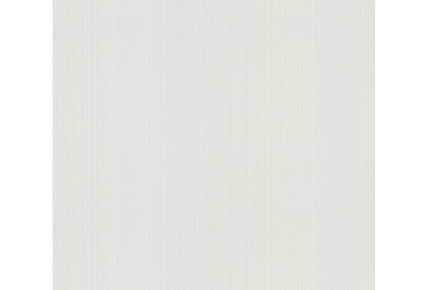 AS Création Vliestapete Meistervlies Streifentapete überstreichbar weiß 575418