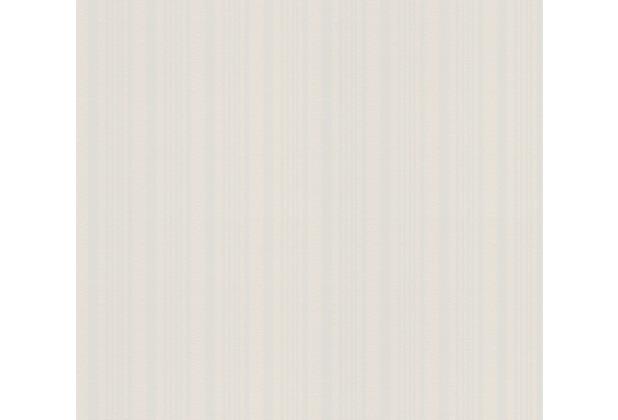 AS Création Vliestapete Meistervlies Streifentapete überstreichbar weiß 586315