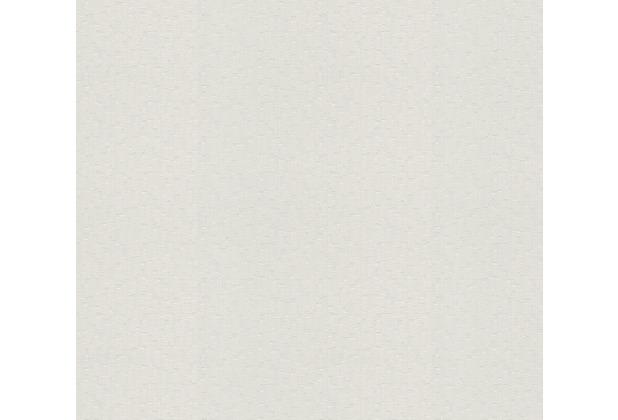 AS Création Vliestapete Meistervlies Strukturtapete überstreichbar weiß 586513