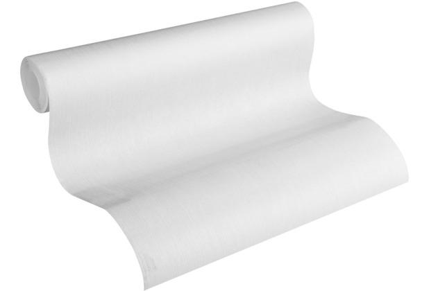 AS Création Vliestapete Meistervlies Strukturtapete überstreichbar weiß 320061 10,05 m x 0,53 m