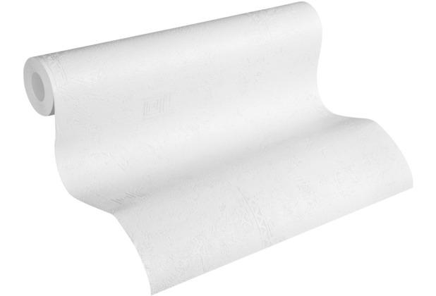 AS Création Vliestapete Meistervlies Tapete in Putzoptik überstreichbar weiß 321411 10,05 m x 0,53 m