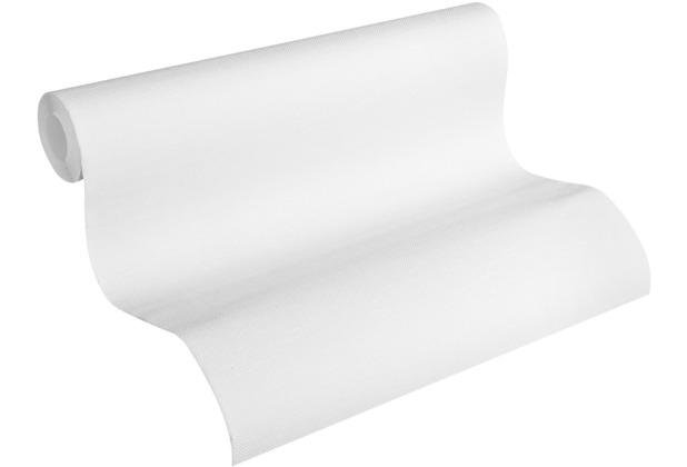 AS Création Vliestapete Meistervlies Strukturtapete überstreichbar weiß 323613 10,05 m x 0,53 m