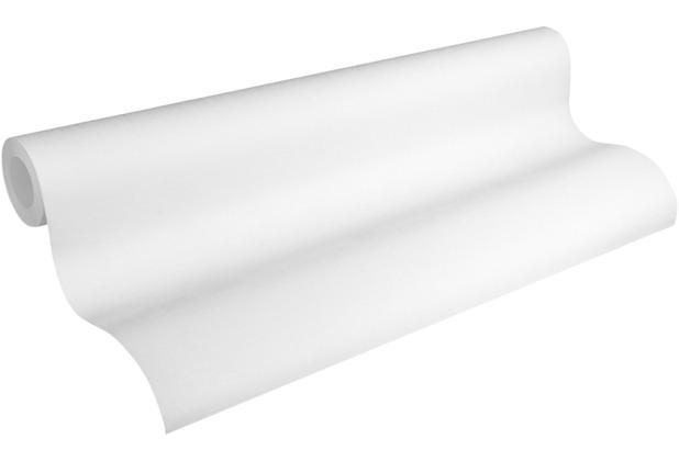 AS Création Vliestapete Meistervlies Strukturtapete überstreichbar weiß 324115 25,00 m x 1,06 m
