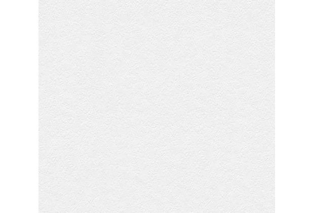 AS Création Vliestapete Meistervlies Strukturtapete überstreichbar weiß 316011 10,05 m x 0,53 m