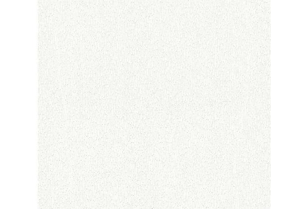 AS Création überstreichbare Vliestapete Meistervlies Pro weiß 355621 10,05 m x 0,53 m