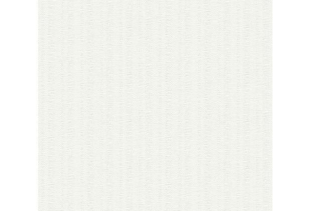 AS Création überstreichbare Vliestapete Meistervlies Pro weiß 355317 25,00 m x 1,06 m
