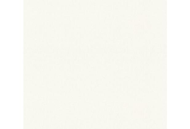 AS Création Vliestapete Meistervlies Unitapete überstreichbar weiß 350651 21,00 m x 1,06 m