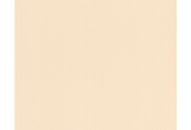 AS Création Uni-/Streifentapete Boys & Girls 4, Papiertapete, beige, creme, gelb 908742 10,05 m x 0,53 m