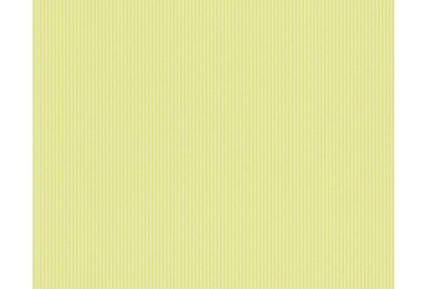 AS Création Uni-/Streifentapete Boys & Girls 4, Papiertapete, grün 908773 10,05 m x 0,53 m