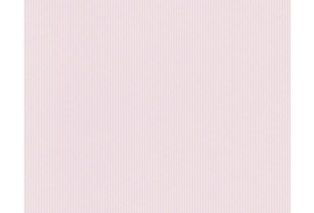 AS Création Uni-/Streifentapete Boys & Girls 4, Papiertapete, rot, violett 908728 10,05 m x 0,53 m