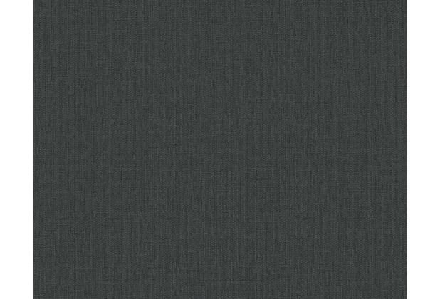 AS Création Uni-, Strukturtapete Around the world Tapete schwarz 306901 10,05 m x 0,53 m