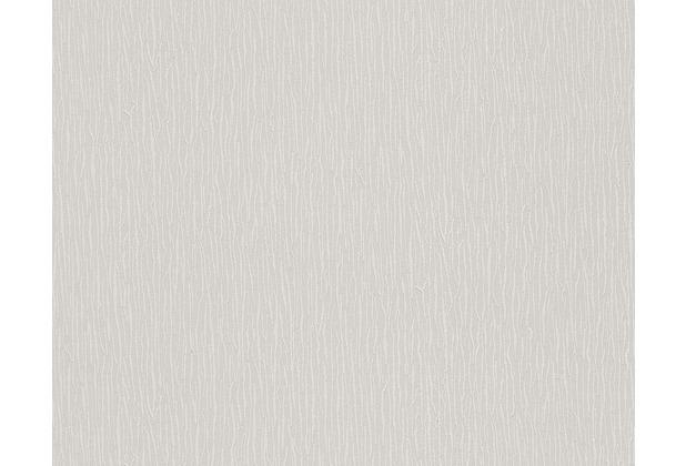 AS Création Uni-, Strukturtapete Belle Epoque Strukturprofiltapete grau 301857 10,05 m x 0,53 m