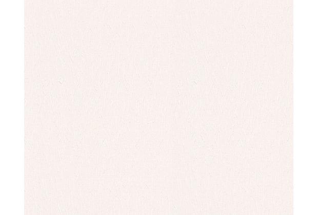 AS Création Uni-, Strukturtapete Belle Epoque Strukturprofiltapete weiß 301819 10,05 m x 0,53 m