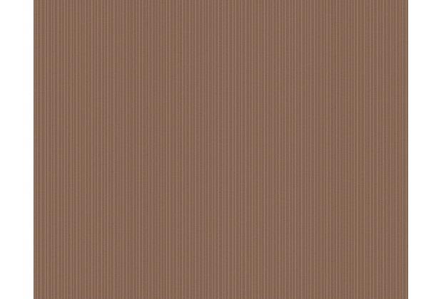 AS Création Uni-, Strukturtapete Cocoon, Vliestapete, braun 957621