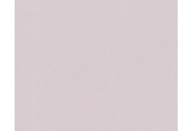 AS Création Uni-/Strukturtapete Fleuri Pastel, Tapete, violett 937672 10,05 m x 0,53 m
