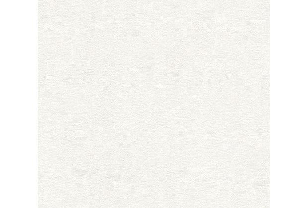 AS Création Uni-, Strukturtapete mit Glitter Midlands Vliestapete creme metallic 319685 10,05 m x 0,53 m