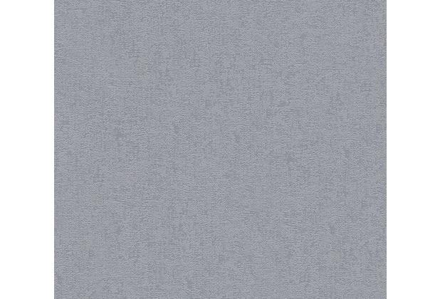 AS Création Uni-, Strukturtapete mit Glitter Midlands Vliestapete grau metallic 319683 10,05 m x 0,53 m