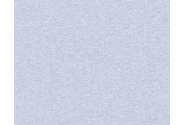 AS Création Uni-, Strukturtapete Smooth, Vliestapete, blau 302384 10,05 m x 0,53 m