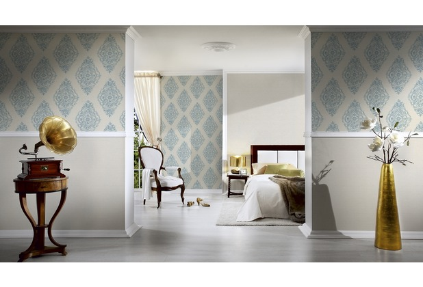 AS Création Unitapete Around the world Tapete beige 306881 10,05 m x 0,53 m