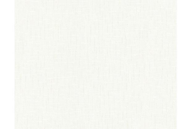 AS Création Unitapete Belle Epoque Strukturprofiltapete weiß 233110 10,05 m x 0,53 m