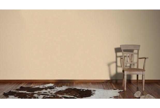 AS Création Unitapete Björn Vliestapete beige metallic 10,05 m x 0,53 m