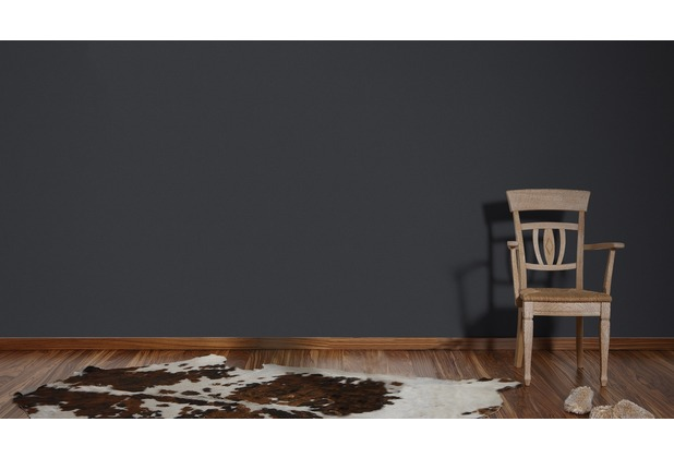 AS Création Unitapete Björn Vliestapete schwarz 10,05 m x 0,53 m