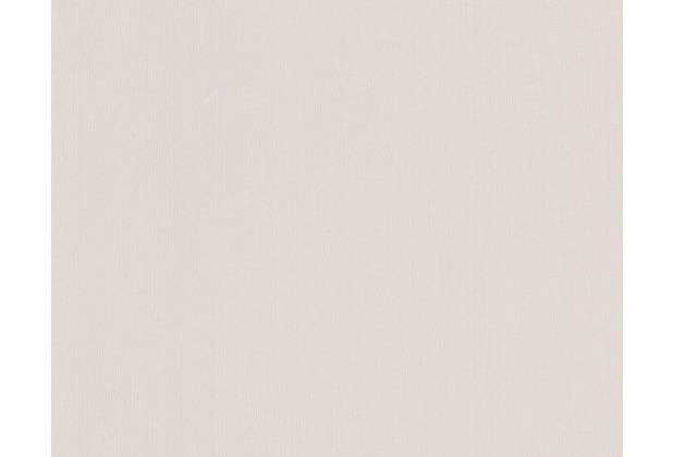 AS Création Unitapete Boys & Girls 5, Papiertapete, grau, weiß 898128 10,05 m x 0,53 m