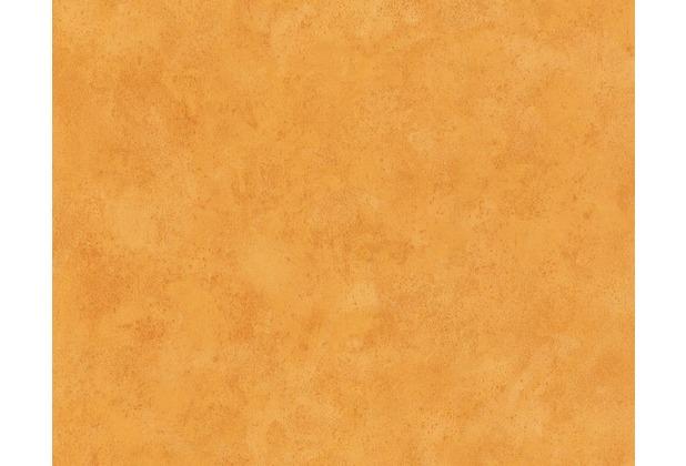 AS Création Unitapete Boys & Girls 5, Papiertapete, orange 758828 10,05 m x 0,53 m
