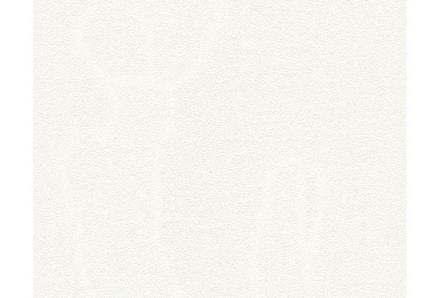 AS Création Unitapete Day & Night Vliestapete weiß 325013 10,05 m x 0,53 m