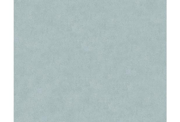 AS Création Unitapete Elegance 3, Vliestapete, blau 305104 10,05 m x 0,53 m