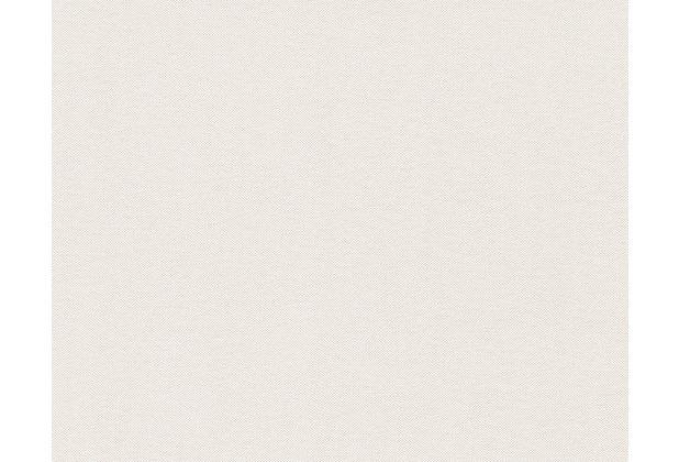 AS Création Unitapete Elegance 3, Vliestapete, creme, weiß 304863 10,05 m x 0,53 m