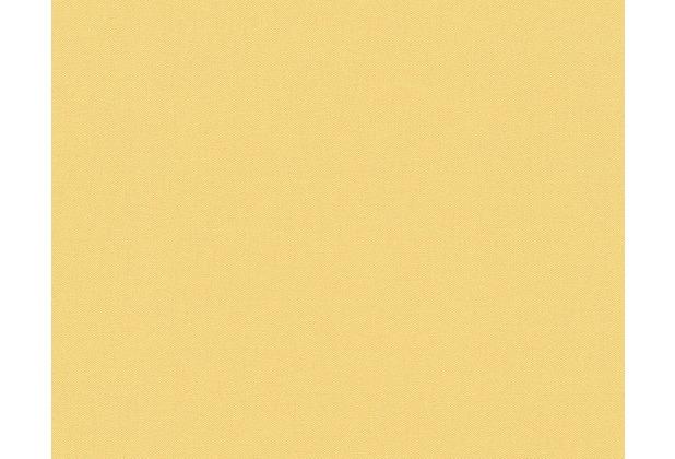 AS Création Unitapete Fleuri Pastel, Tapete, gelb 937795 10,05 m x 0,53 m
