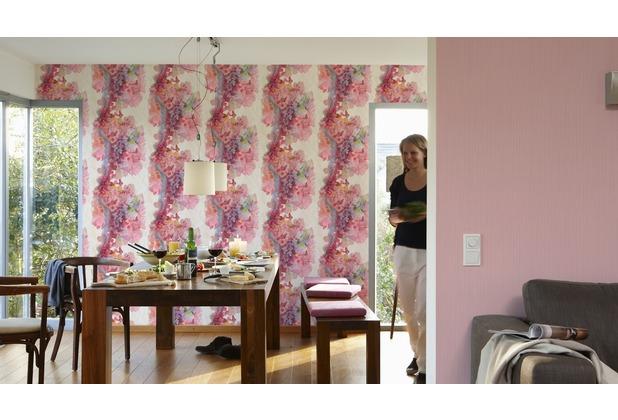AS Création Unitapete Free Nature Vliestapete rosa 10,05 m x 0,53 m