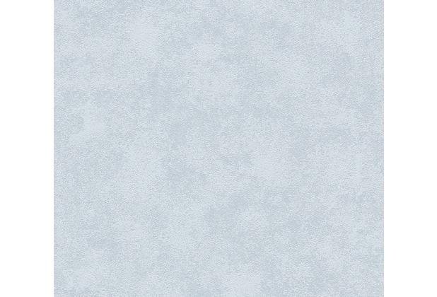 AS Création Unitapete Happy Spring Vliestapete blau grau 343046 10,05 m x 0,53 m