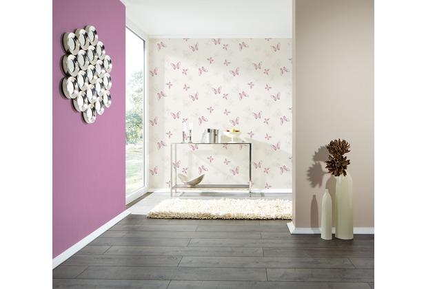 AS Création Unitapete Happy Spring Vliestapete lila 10,05 m x 0,53 m
