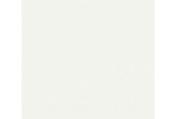 AS Création Unitapete Happy Spring Vliestapete weiß 344572 10,05 m x 0,53 m