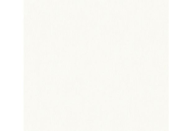 AS Création Unitapete Happy Spring Vliestapete weiß 347681 10,05 m x 0,53 m
