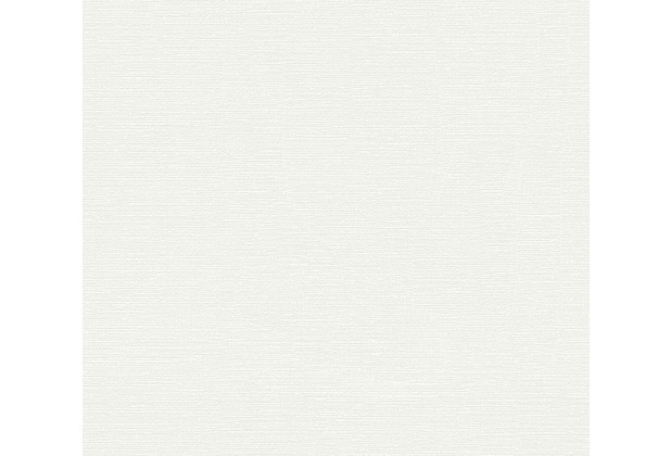 AS Création Unitapete Happy Spring Vliestapete weiß creme 347721 10,05 m x 0,53 m