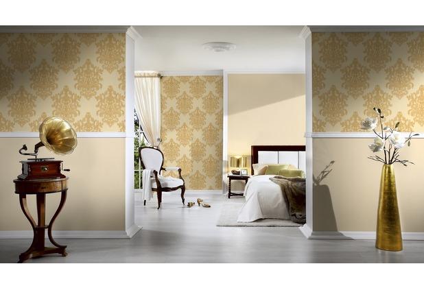 AS Création Unitapete Hermitage 10 beige 10,05 m x 0,53 m