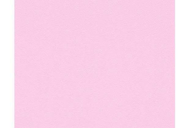 AS Création Unitapete MeisterVlies 5, Vliestapete, rosa 309563 10,05 m x 0,53 m