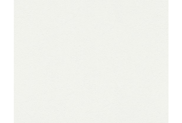 AS Création Unitapete MeisterVlies 5, Vliestapete, weiß 301561 10,05 m x 0,53 m