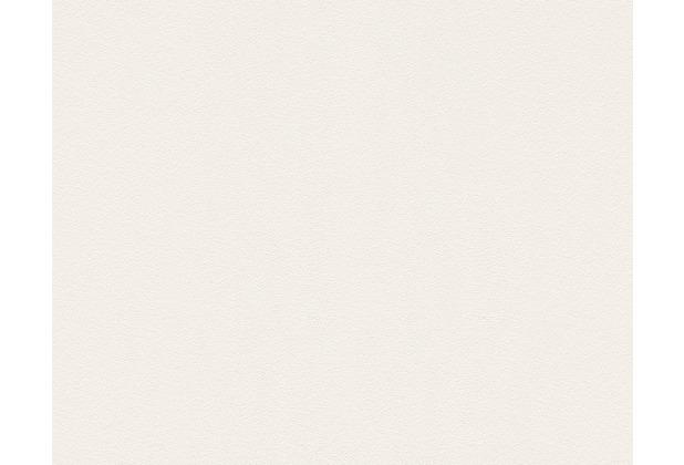 AS Création Unitapete Memory 3 Vliestapete creme weiß 309129 10,05 m x 0,53 m