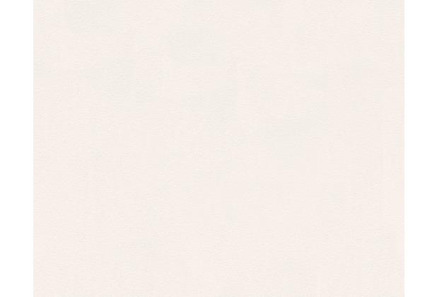 AS Création Unitapete mit Glitter Spot 3 Vliestapete metallic weiß 296511 10,05 m x 0,53 m