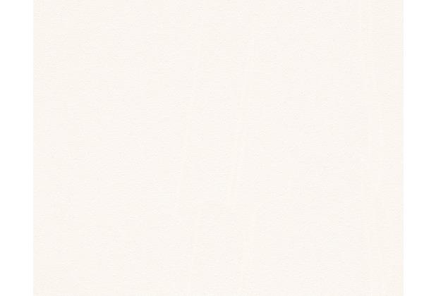AS Création Unitapete New Look Strukturprofiltapete creme weiß 306401 10,05 m x 0,53 m