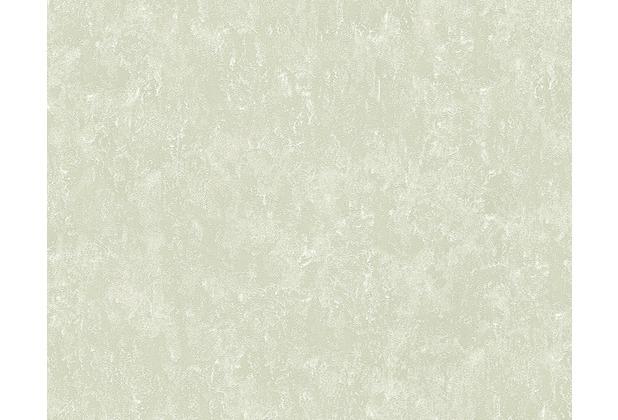 AS Création Unitapete Romantica 3 Tapete grau metallic 304233 10,05 m x 0,53 m