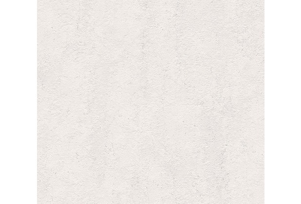 AS Création Unitapete Strukturtapete Essentials Vliestapete Tapete grau 560186 10,05 m x 0,53 m