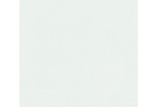 AS Création Unitapete Strukturtapete Essentials Vliestapete Tapete grün 10,05 m x 0,53 m