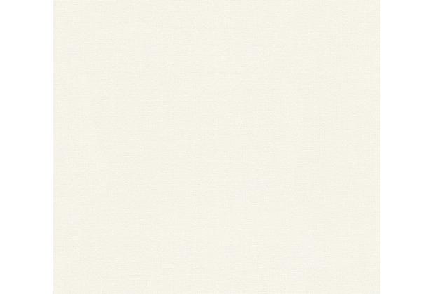 AS Création Unitapete Strukturtapete Reflection Vliestapete Tapete weiß 319991 10,05 m x 0,53 m