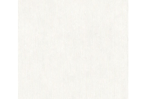 AS Création Unitapete Urban Flowers Papiertapete metallic weiß 328052 10,05 m x 0,53 m